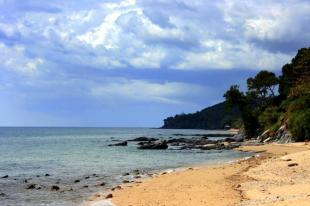 Nocleg na plaży w Tajlandii