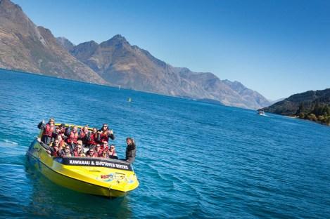 Hard core w Nowej Zelandii - fajna wycieczka łódką