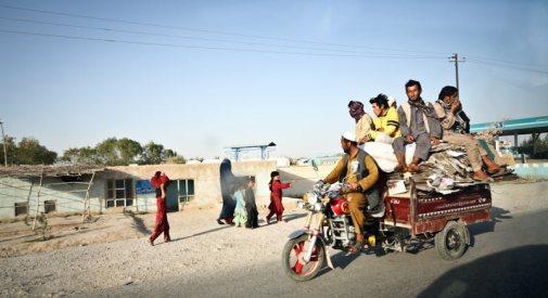 Taksówka w Afganistanie