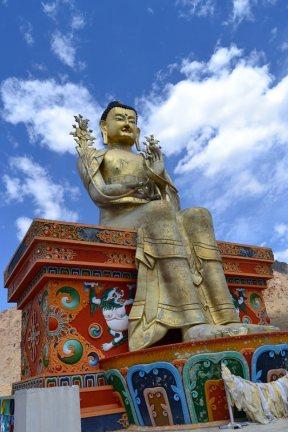 Budda w Alchi, Indie, Ladakh