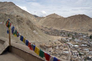 Ladakh, widok na Leh