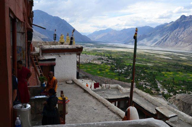 Buddyjski klasztor w indyjskim stanie Ladakh