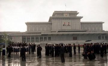 Mauzoleum Kim Ir Sena i Kim Dzong Ila - zdjęcia z Korei Północnej