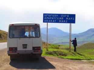 Wesoły autobus w Armenii