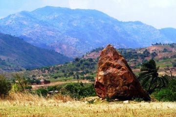 Głaz Livingston'a w Burundi