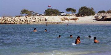 Irańczycy na plaży