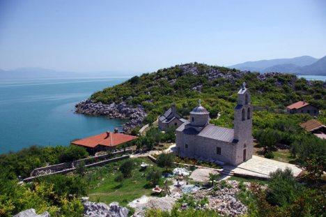 Prawosławny klasztor w Czarnogórze