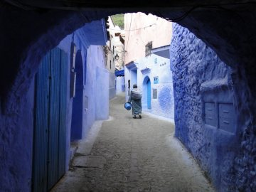 Maroko - spacer po Szafszawan