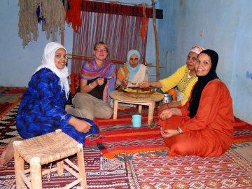 Wizyta w domu u Marokańczyków