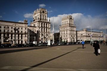 Plac Przydworcowy w Mińsku - zdjęcia z Białorusi.