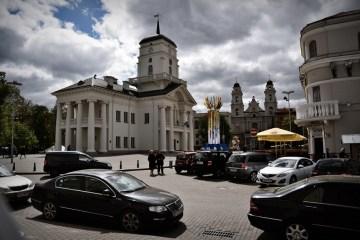Centrum Mińska - zdjęcia z Białorusi