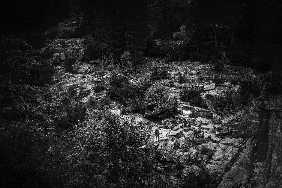 Szlak GR20 na Korsyce - zdjęcia z górskiej wycieczki. (Fot. Jakub Rybicki)