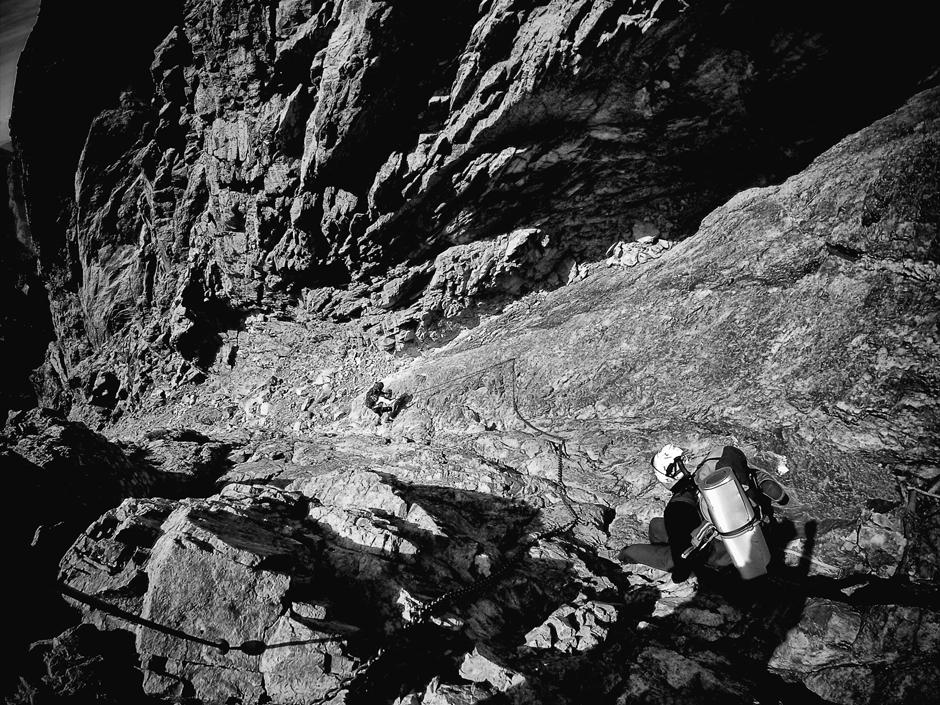 Najtrudniejszy odcinek szlaku górskiego GR20. Zdjęcia z Korsyki