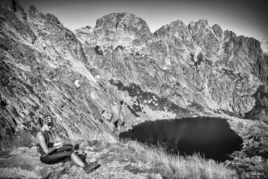 Zdjęcia ze szlaku górskiego GR20