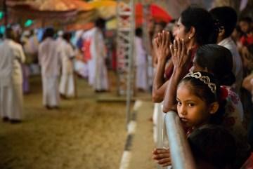 Procesja religijna na Sri Lance - foto