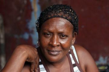 Kobieta z Sao Tome - foto