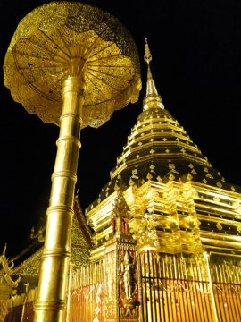 Buddyjska świątynia w Tajlandii