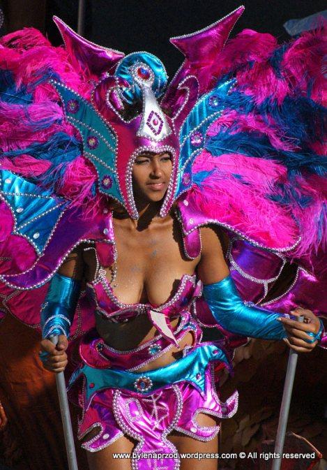 Królowa karnawału - Sao Vincente