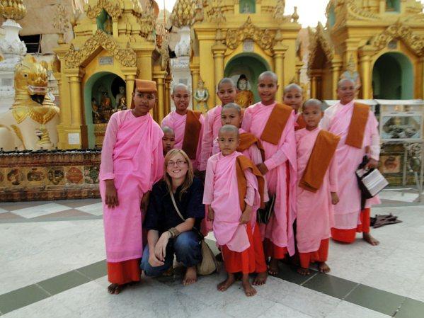 Birmańskie mniszki