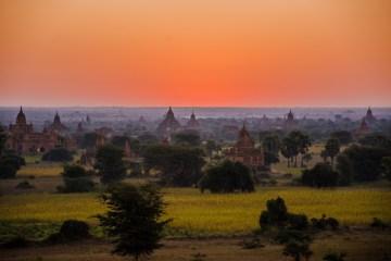 Pagan - zdjęcia z Birmy
