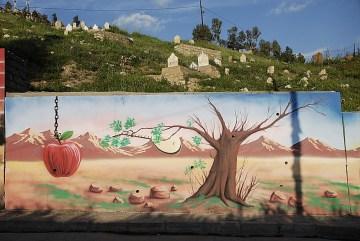 Murak upamiętniający masakrę w kurdyjskiej Halabdży - foto