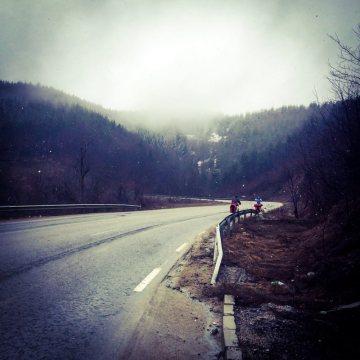 Rowerem przez bułgarskie góry