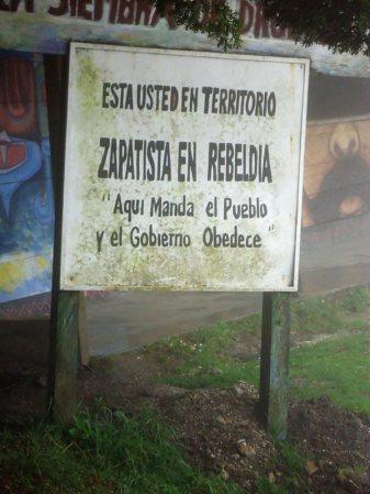 Ziemie zapatystów w Meksyku, stan Chiapas - zdjęcia