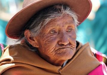Staruszka z Boliwi
