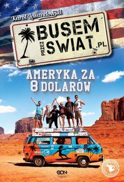 Busem przez Świat - okładka książki Karola Lewandowskiego