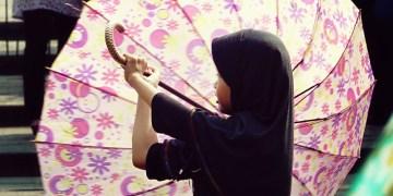 Indonezyjska dziewczynka