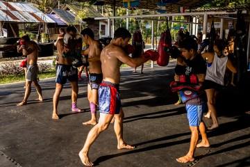 Tajski boks - zdjęcia
