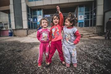 Dzieci uchodzców z Syrii
