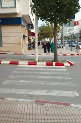 Krawężniki w Maroku