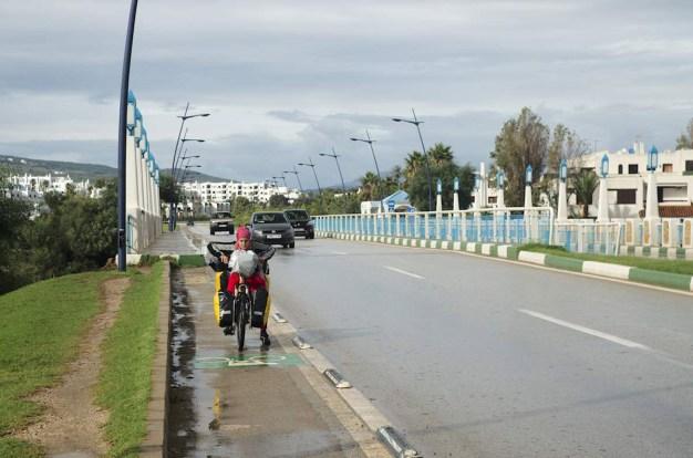 Rowerem przez Maroko