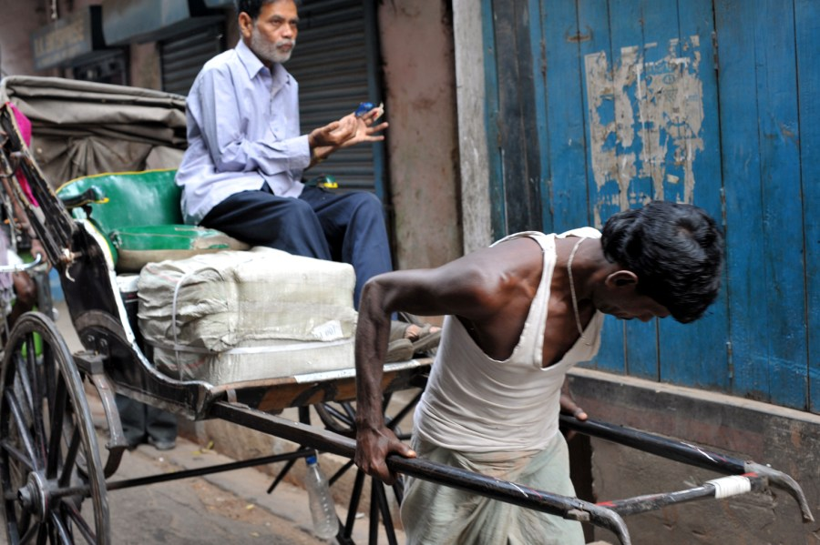 Tana riksza, Kalkuta