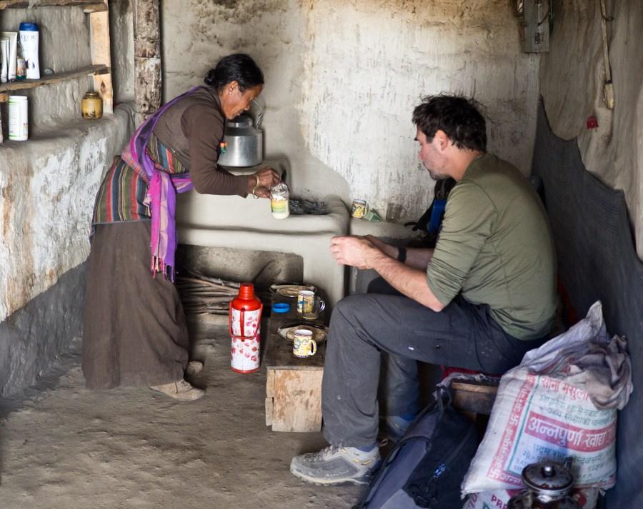 W tybetańskim domu