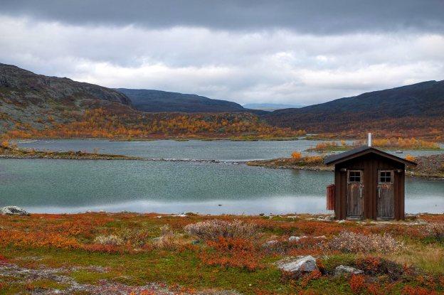 Wychodek na świeżym powietrzu, Laponia