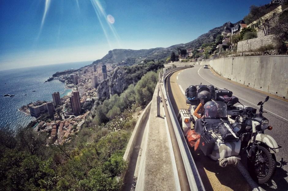 Motocyklem dookoła Europy, Monako - Fot. Mihai Barbu