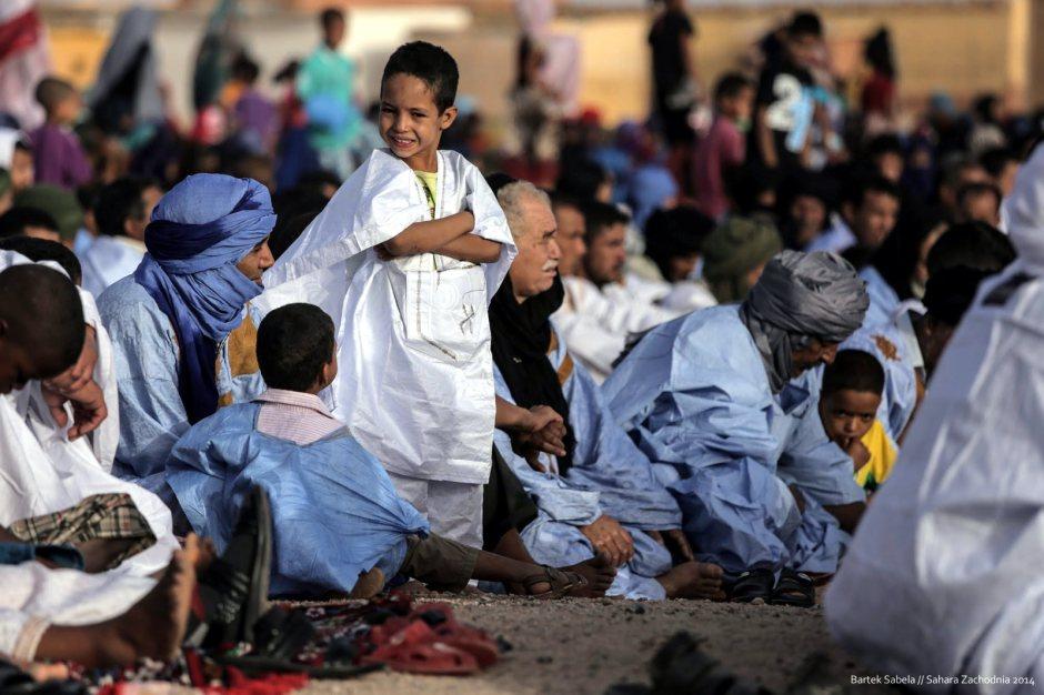 W obozie Saharyjczyków, Bartek Sabela