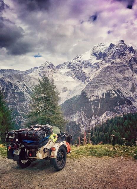 Ural Ranger, motocyklem przez Europę, Mihai Barbu