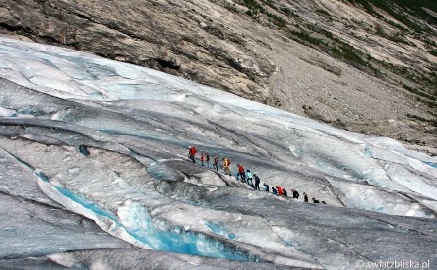 Jostedalsbrennen - wycieczka na norweski lodowiec