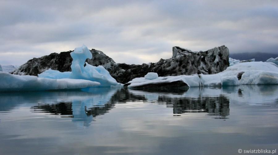Jokulsarlon - malownicza lodowa laguna na Islandii