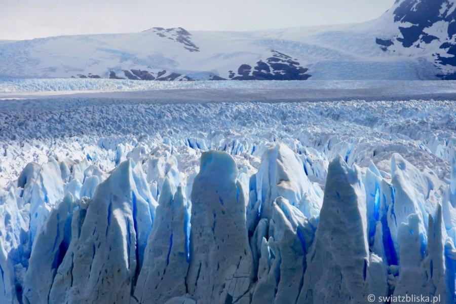 Zdjęcia z lodowca w Antarktydzie