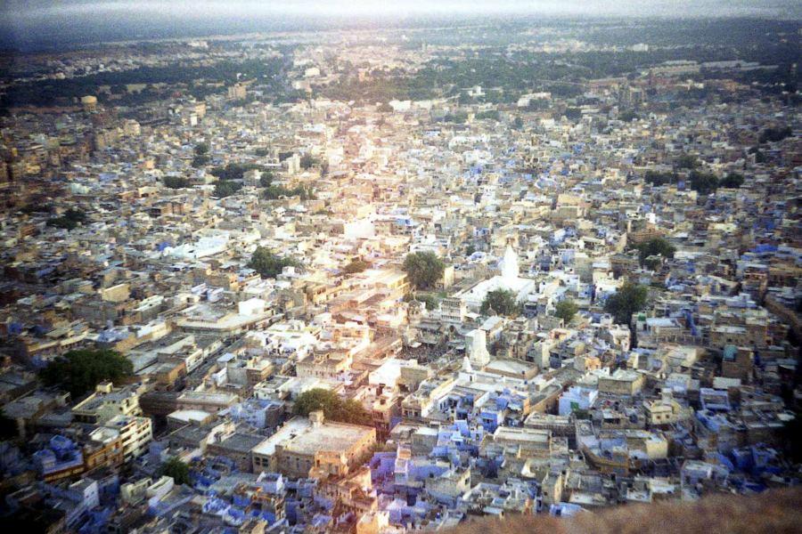 Dżodhpur - błękitne miasto w Indiach