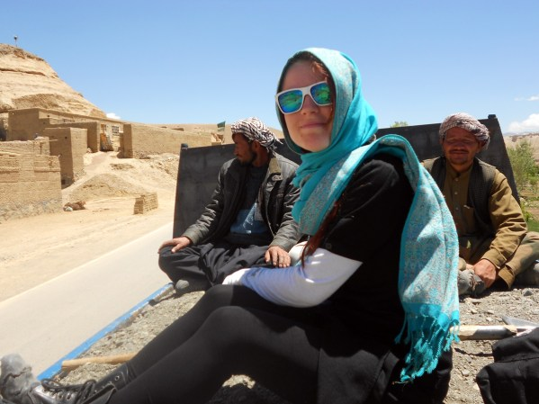 Monika Masaj - autostop w Afganistanie