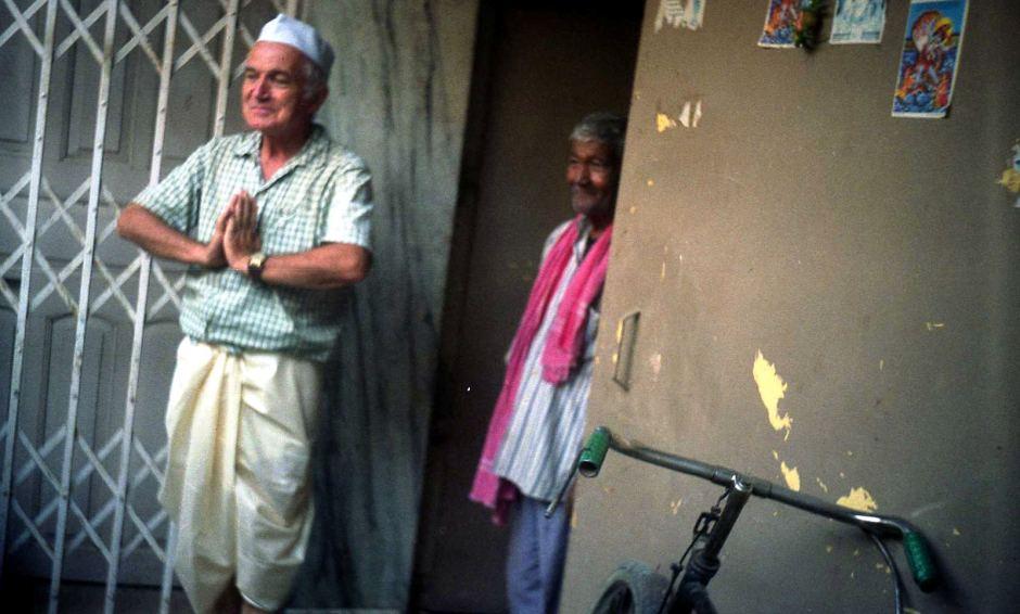 Tadeusz Płatek - podróżnik emeryt w Indiach