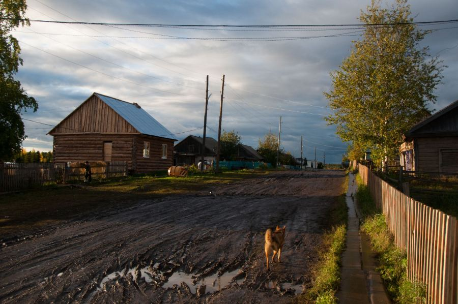 Podróż na Syberię. Rosyjska wieś