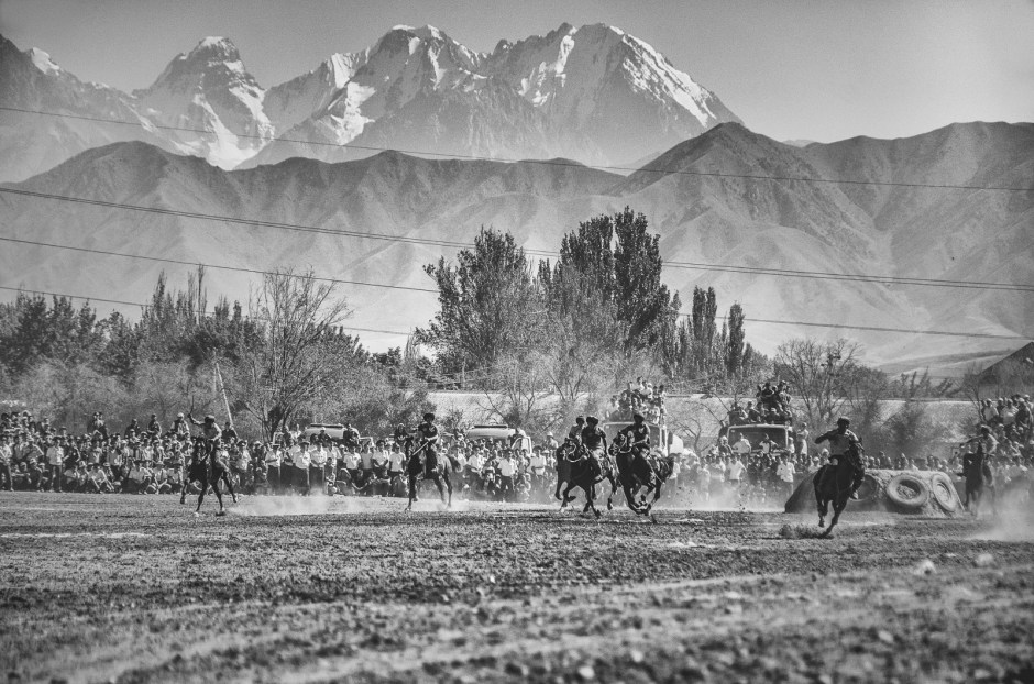 Pamir, gra w buzkaszi w Kirgistanie, Jakub Rybicki