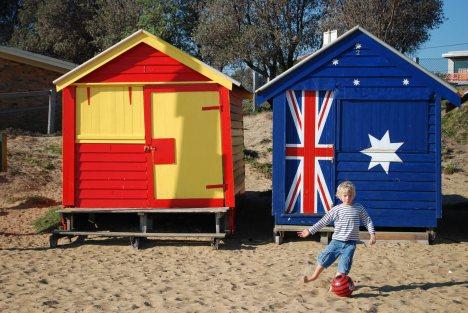 Australia, plaża w St. Kilda
