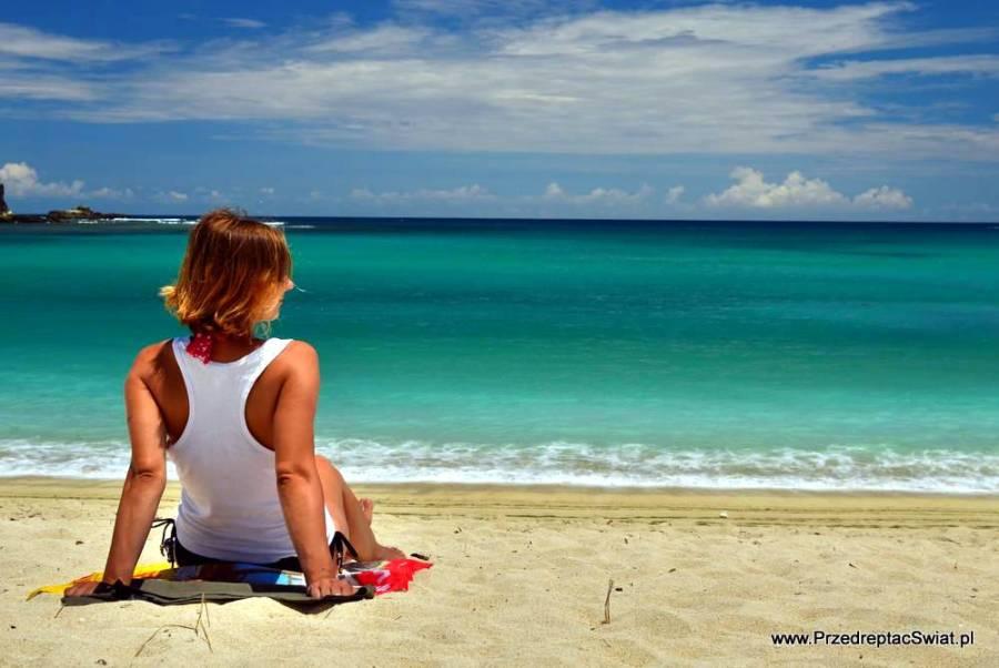 Rajska plaża w Indonezji